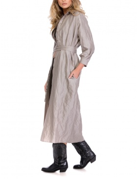 BACK TO BASICS SHIRT-DRESS