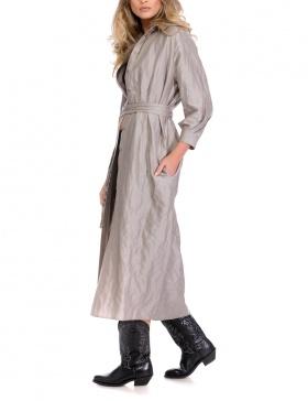 BACK TO BASICS SHIRT-DRESS