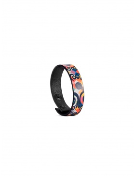 Leather bracelet Black Theory