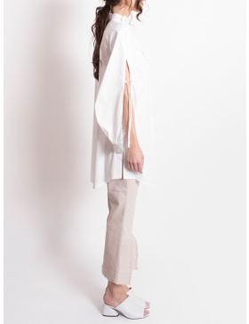 Petal sleeve shirt
