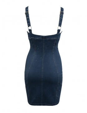 Denim Candy Dress Black