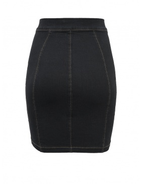 Denim Candy Skirt Black
