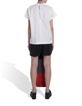 Trousers with flag