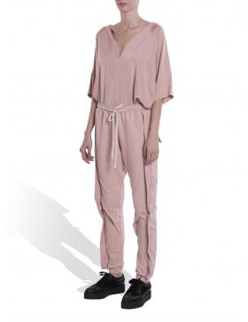 Pink jersey pants