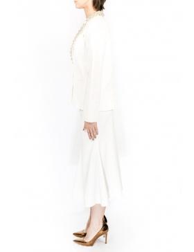 White gussets skirt