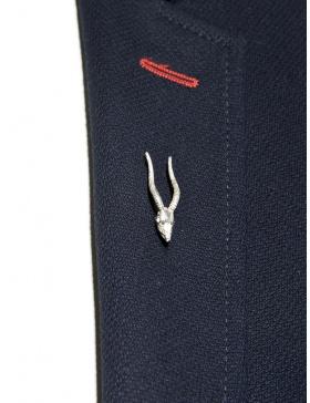 Antelope lapel pin
