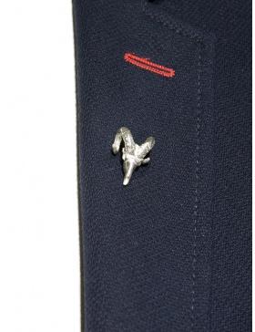 Ram lapel pin