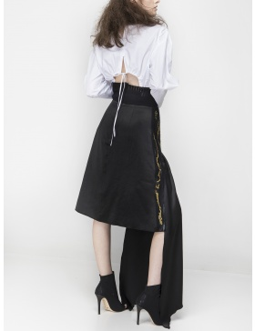 Crafted skirt