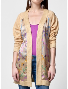 SILK CARDIGAN SUNRISE DREAMS