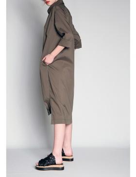 Oversized robe chemise