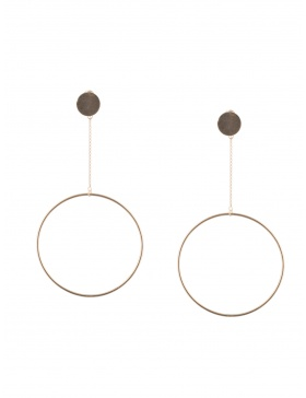 OVERSIZED CIRCLE Earrings