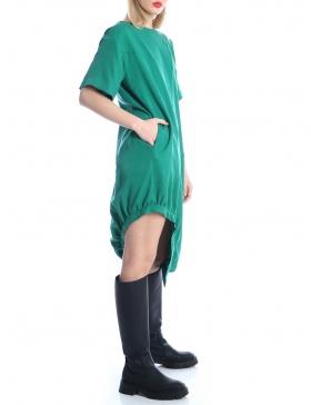 Tencel asymmetric dress