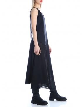 Plisee panel dress