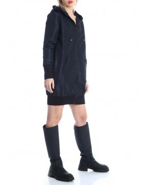 Taffeta hoodie dress