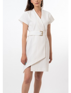 Mini white Amonra dress