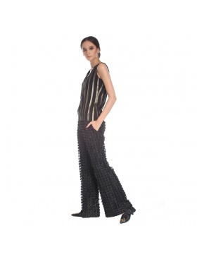 3D laser cut trousers