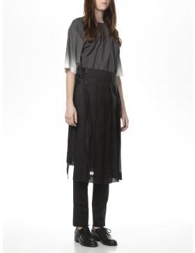 See trough skirt through
