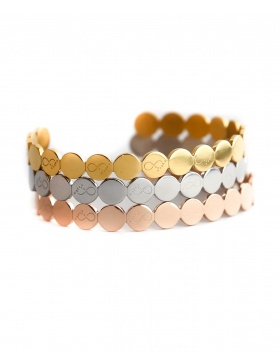 To Infinity and Beyond Bracelet - rose gold