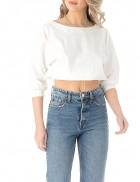 Elastic waist top
