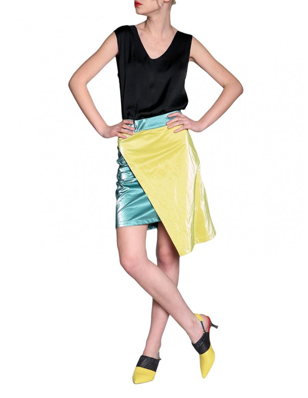 Asymmetrical skirt | Silvia Serban