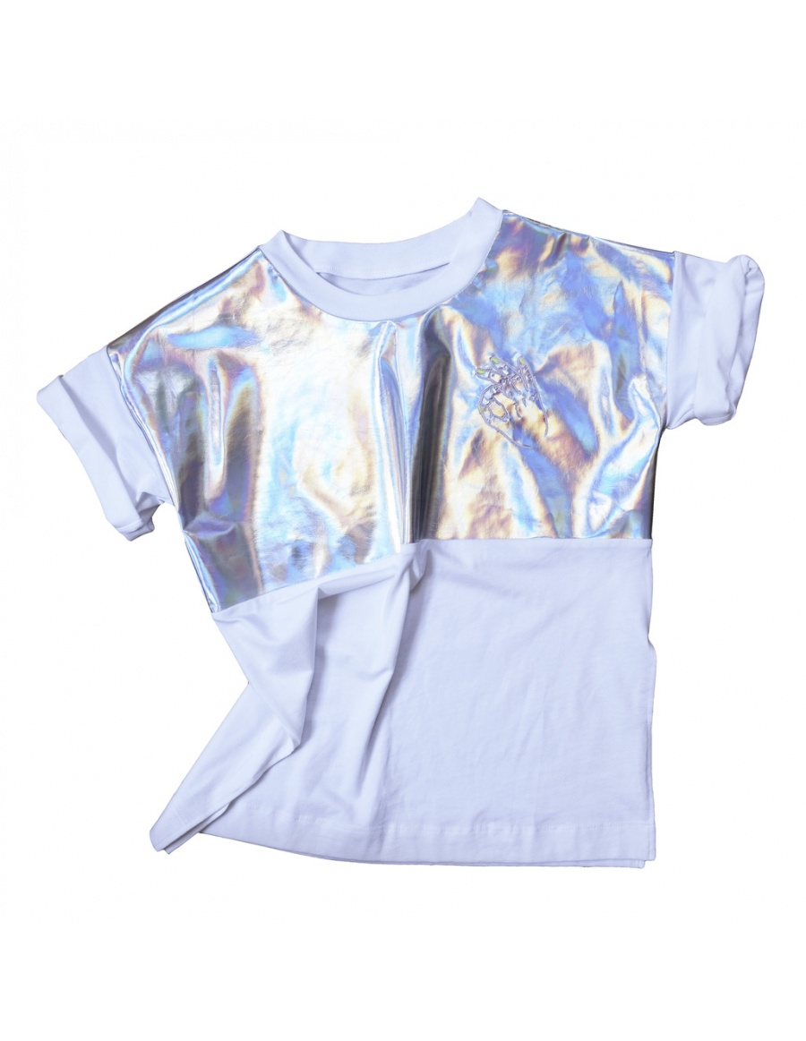 Ok Magic Hand T-shirt silver
