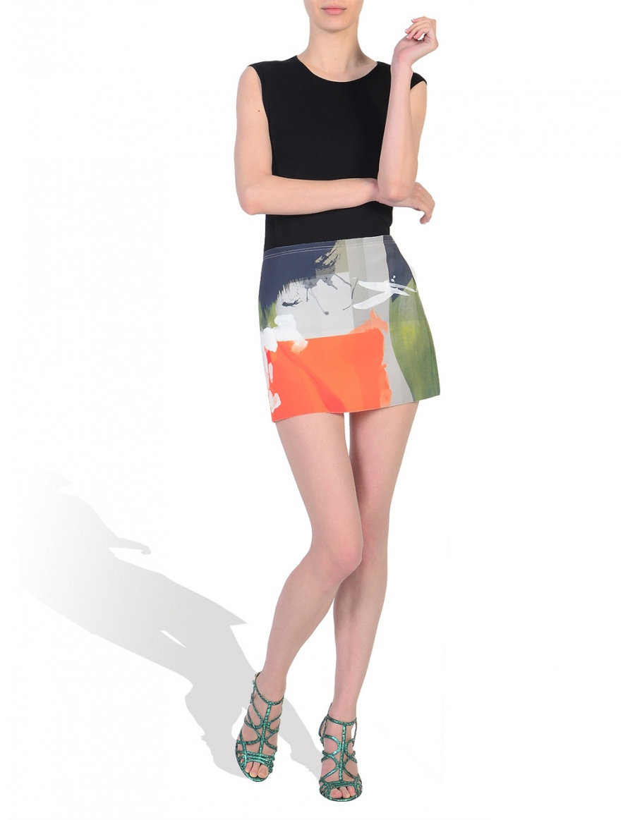 Digitally Printed Skirt