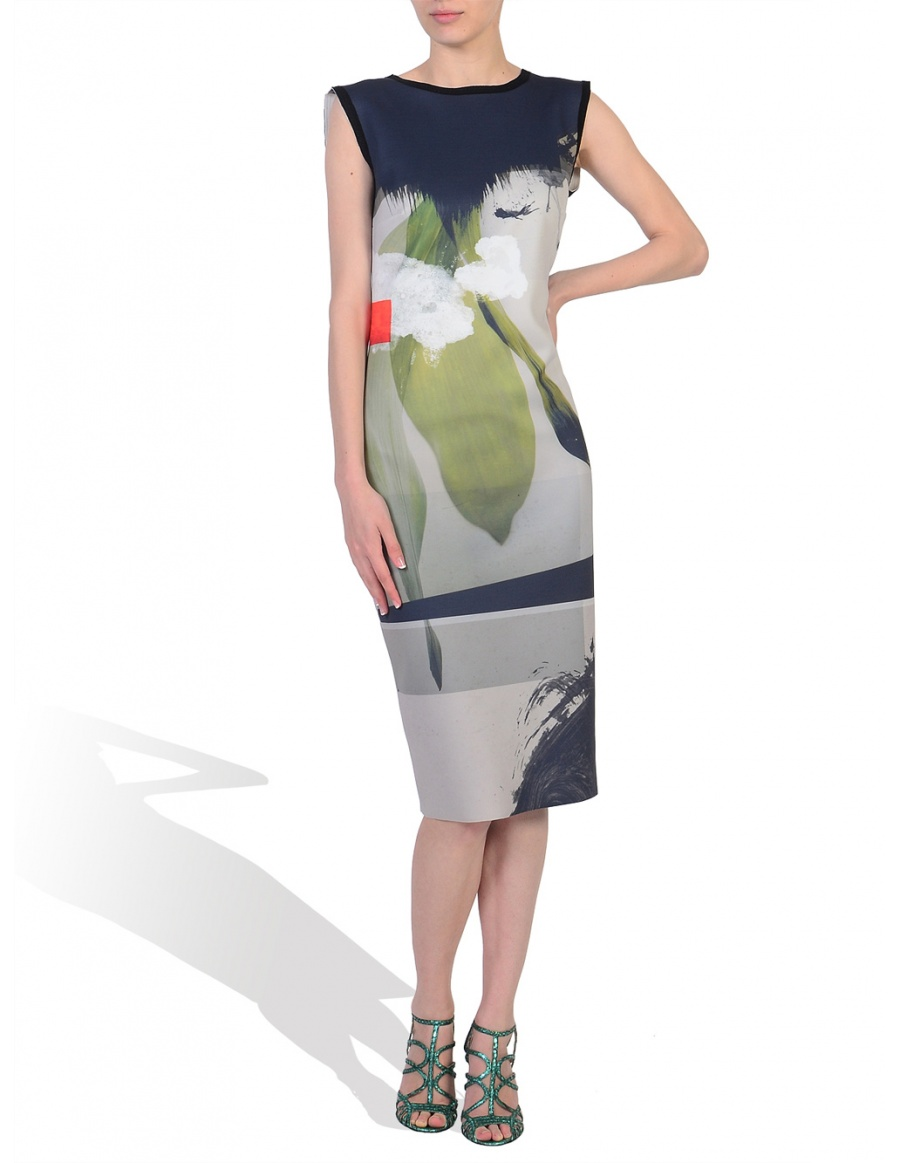 Digitally Printed Dress