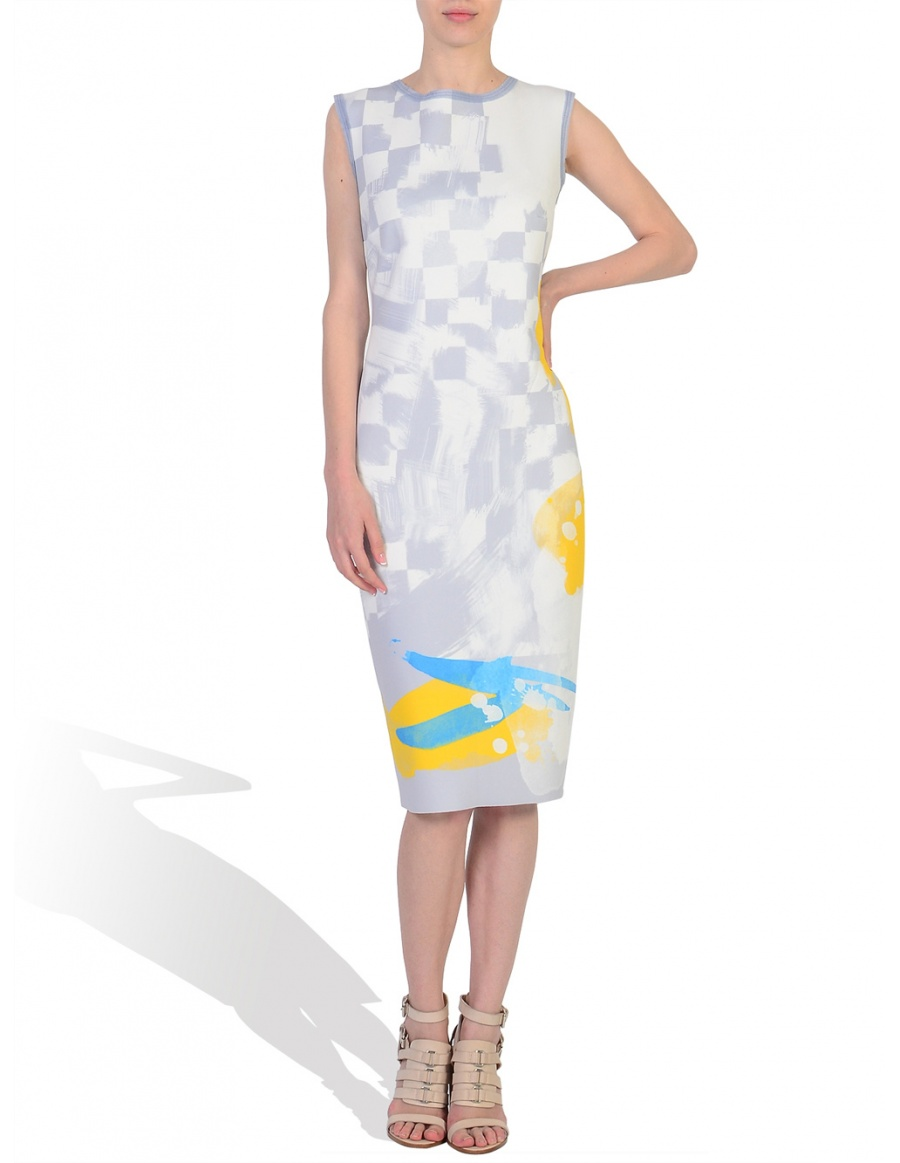 Digitally Printed Midi Dress