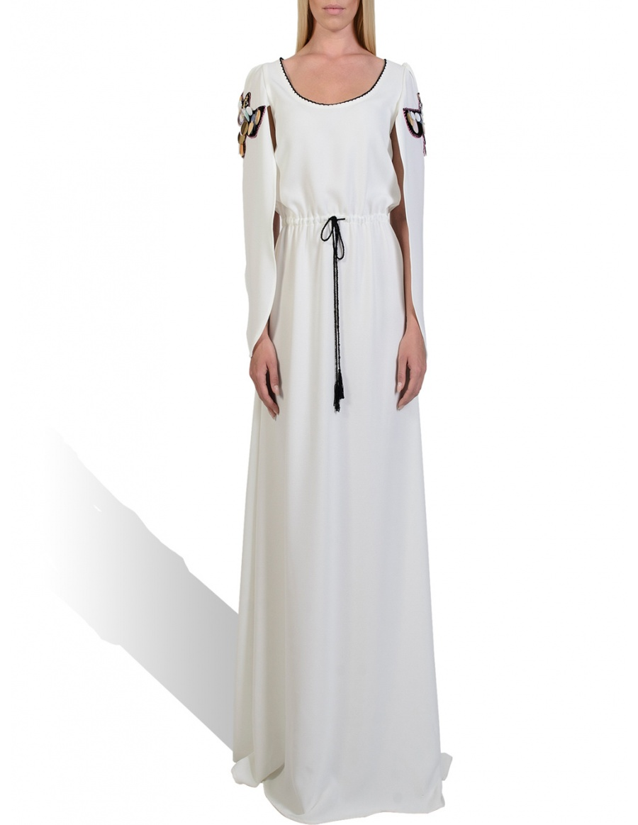 Pepper White long dress