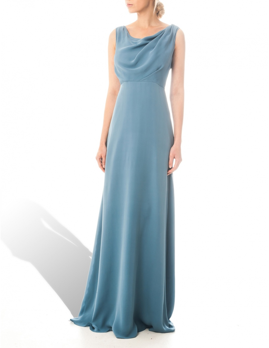 Blue Sky Topaz dress