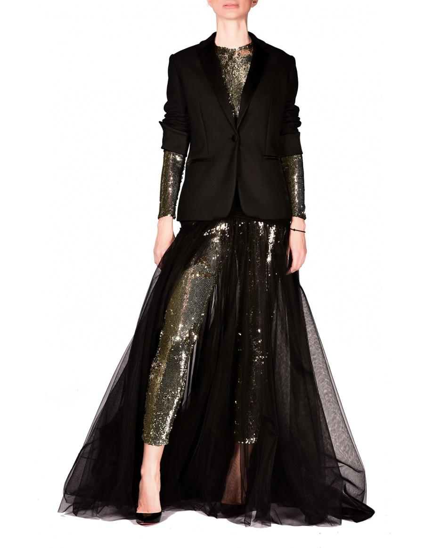 Diafane Black Skirt
