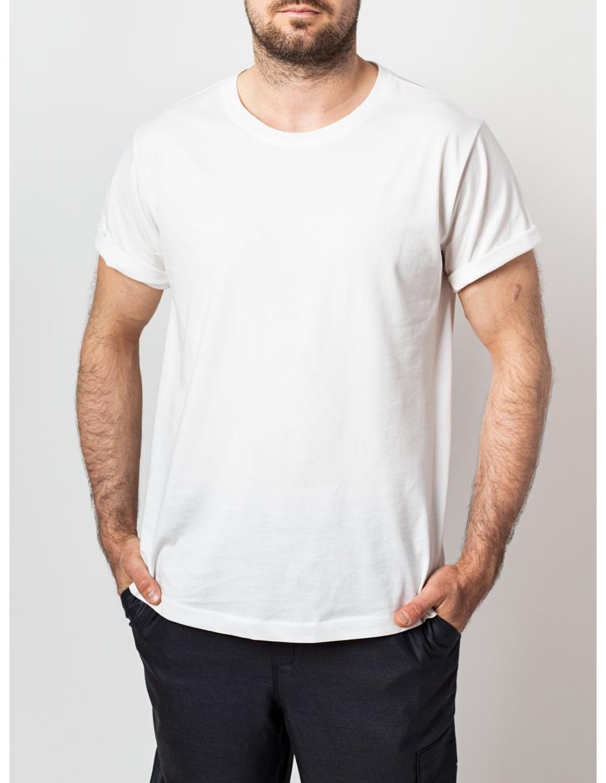 Basic White Men T-shirt