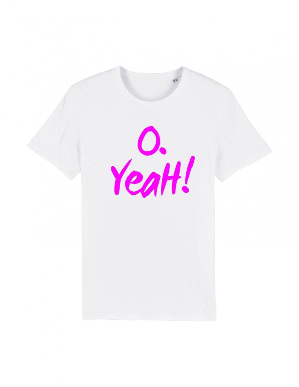 O. Yeah! White T-shirt