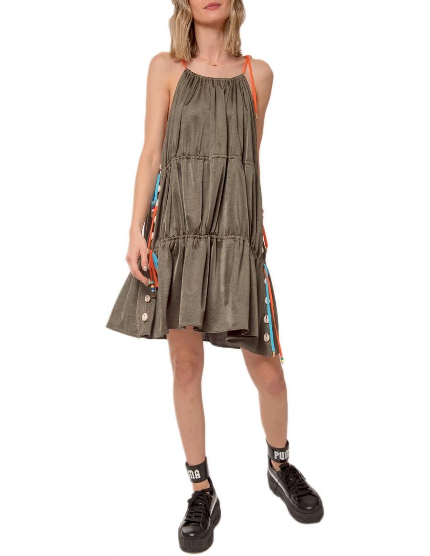 POLIGNANO SHELL DRESS | CORINA VLADESCU