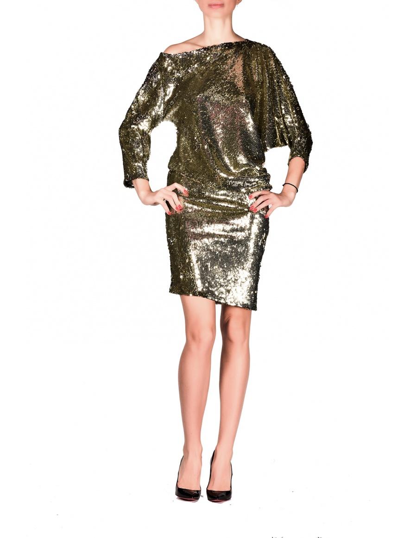 Gold Easy Versatile Dress