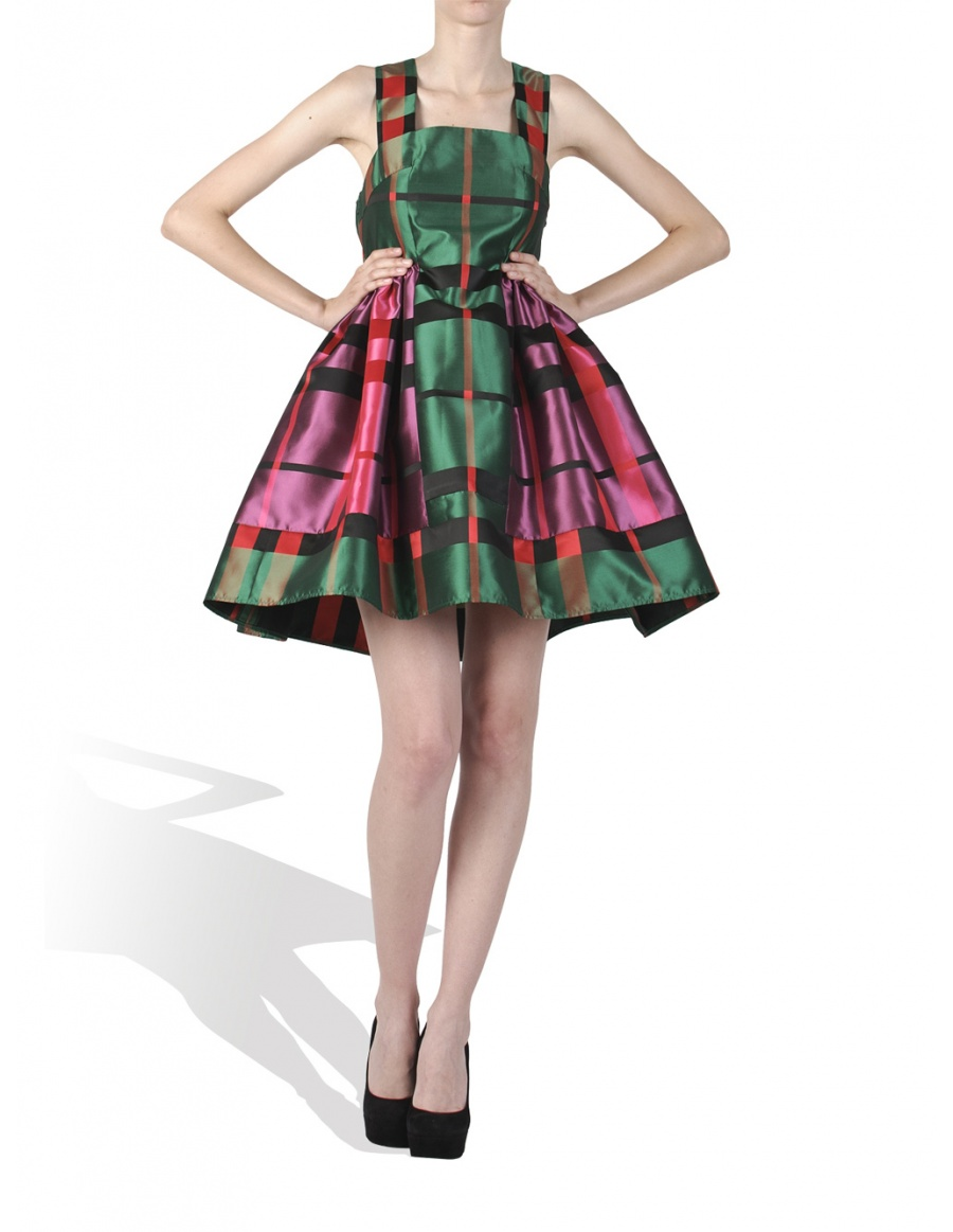 Pink and green Candy Dress