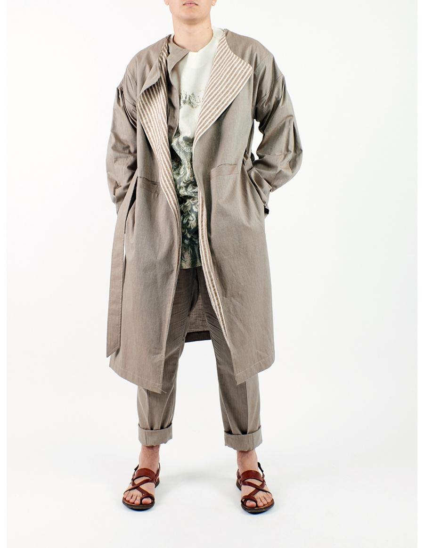 Double unisex overcoat