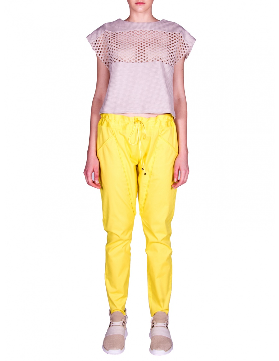 Yellow sport pants