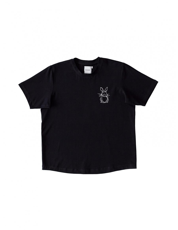 Black T-shirt Happy