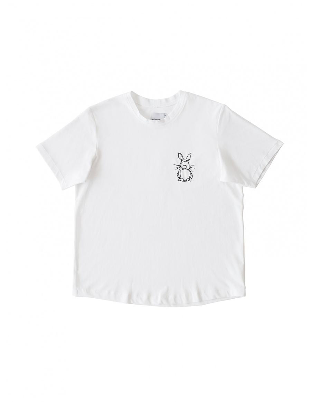 White T-shirt Happy