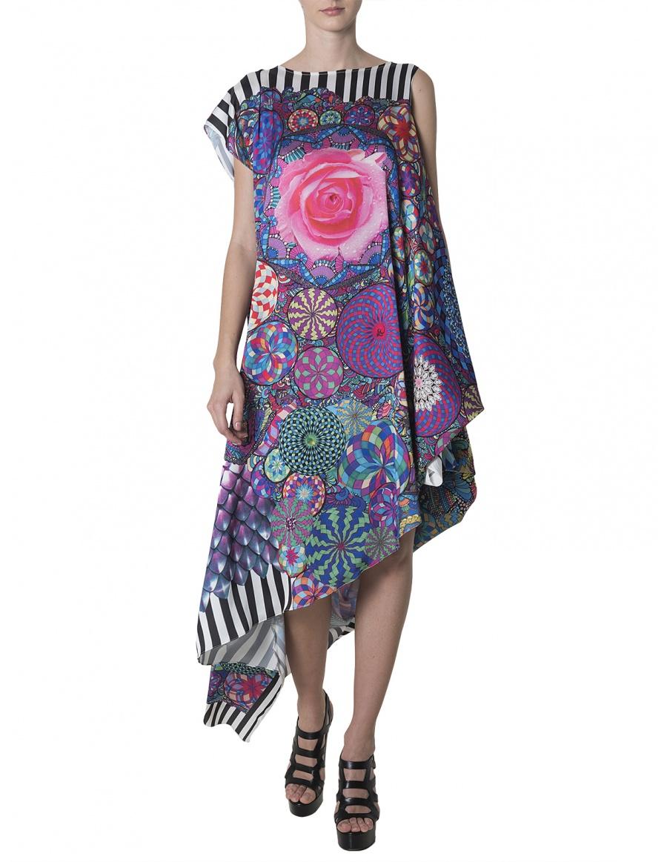Glam Psy Asymmetric Dress