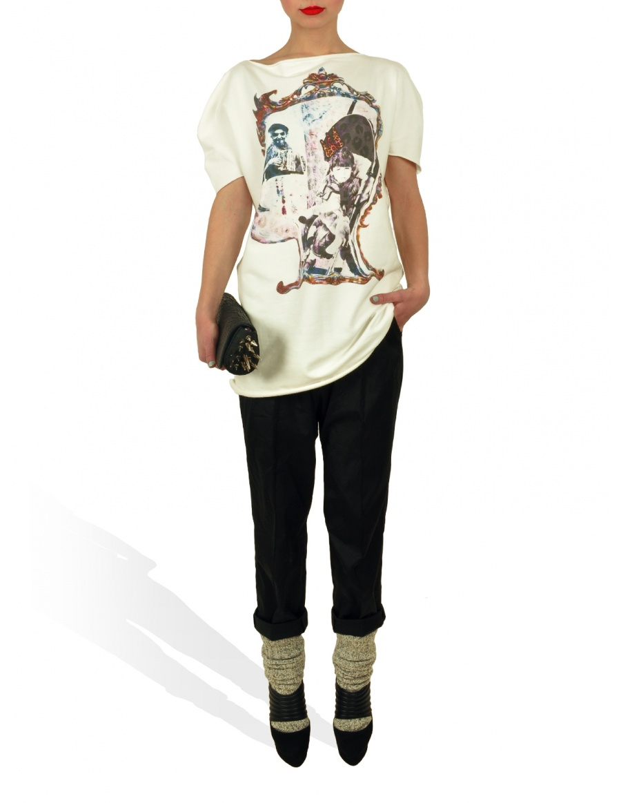 Princely T-Shirt The Little Prince in Milk