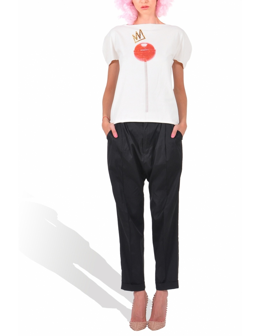 Princely Royal Lollipop T-shirt in Whip Cream
