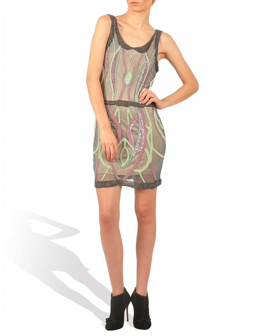 Hand embroided dress