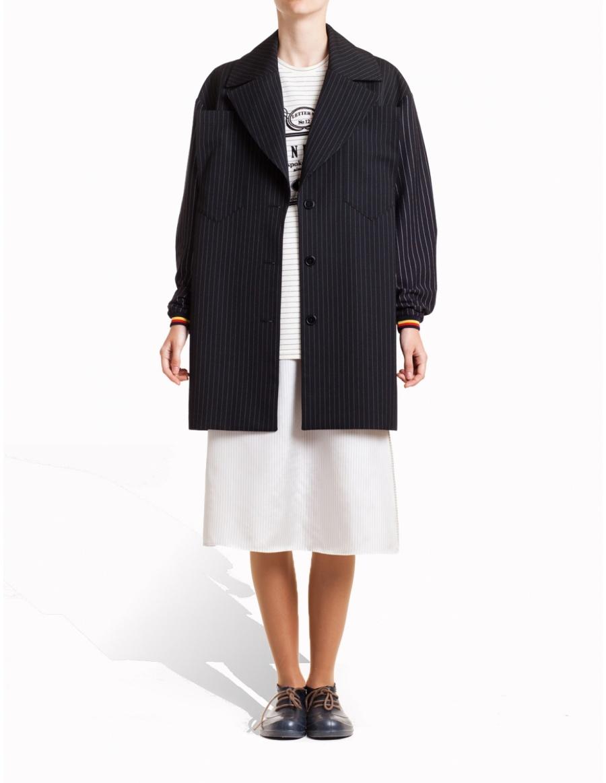 Stripped coat