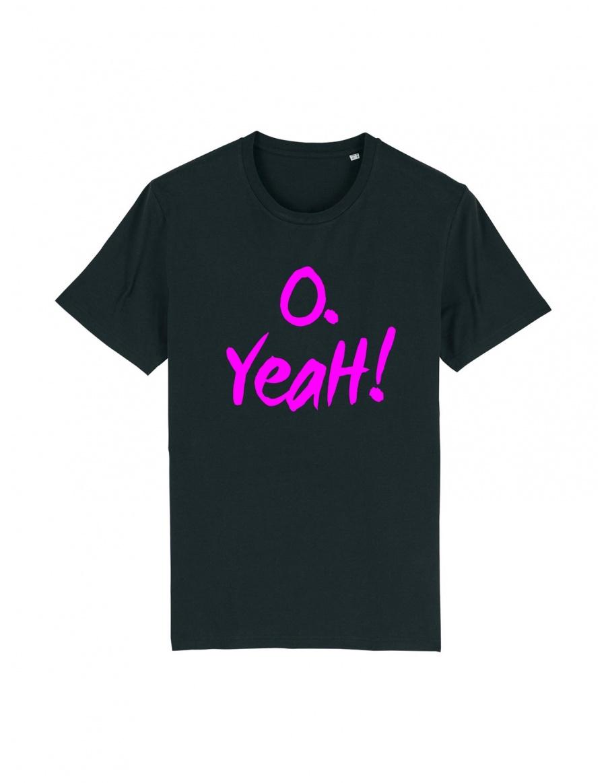 O. Yeah! Black T-shirt