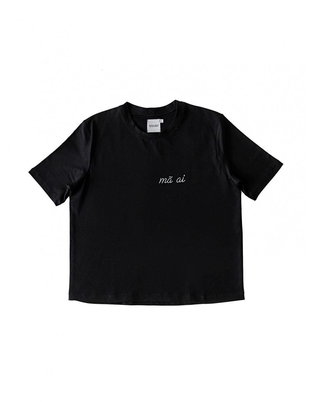 Black T-shirt MAAI