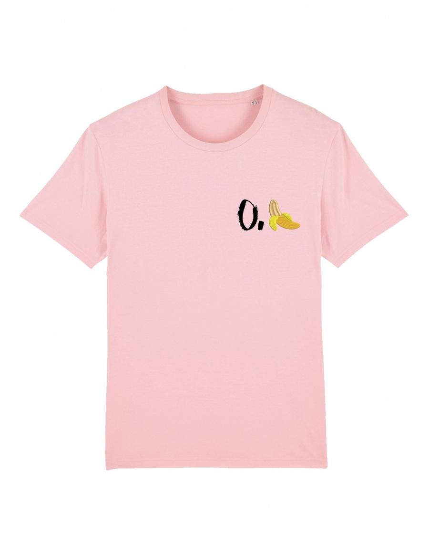 O. banana T-shirt - black writing