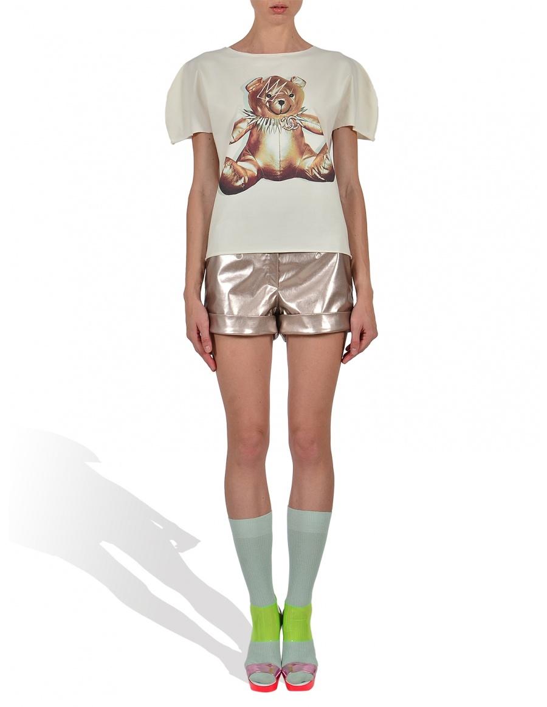 Princely Teddy GaGa T-shirt in Whip Cream
