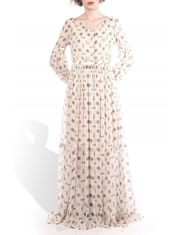 Unique print dress